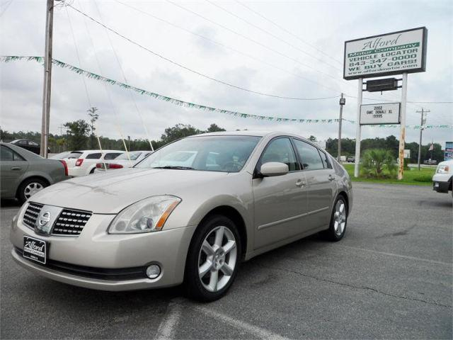 2006 nissan maxima se for sale in conway south carolina classified. Black Bedroom Furniture Sets. Home Design Ideas