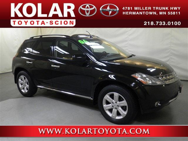2006 nissan murano sl awd sl 4dr suv for sale in duluth. Black Bedroom Furniture Sets. Home Design Ideas