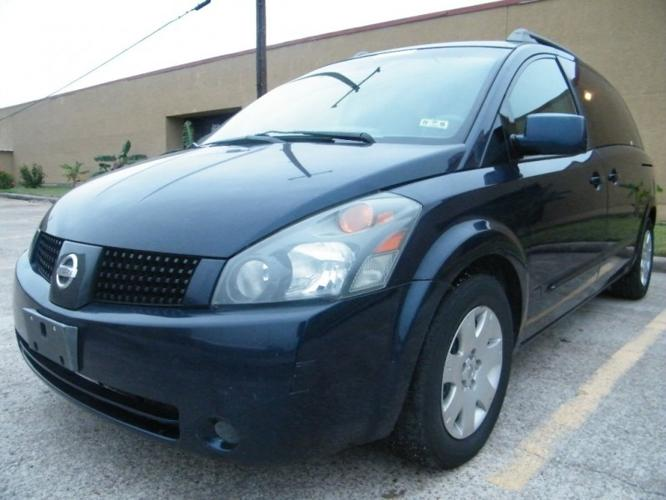 2006 nissan quest 4dr van base for sale in houston texas classified. Black Bedroom Furniture Sets. Home Design Ideas