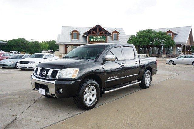 2006 nissan titan le ffv 4dr crew cab sb for sale in weatherford texas classified. Black Bedroom Furniture Sets. Home Design Ideas