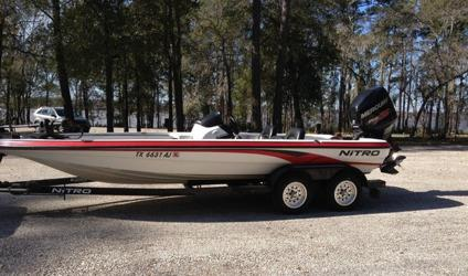 2006 Nitro Bass Boat 898 SC Mercury 200 Optimax Tandem Trailer