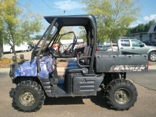 2006 Polaris Ranger U2122 2x4 700 Xp Efi Limited Edition
