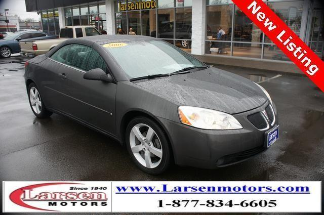 2006 pontiac g6 2d convertible gtp for sale in mcminnville for Larsen motors mcminnville oregon