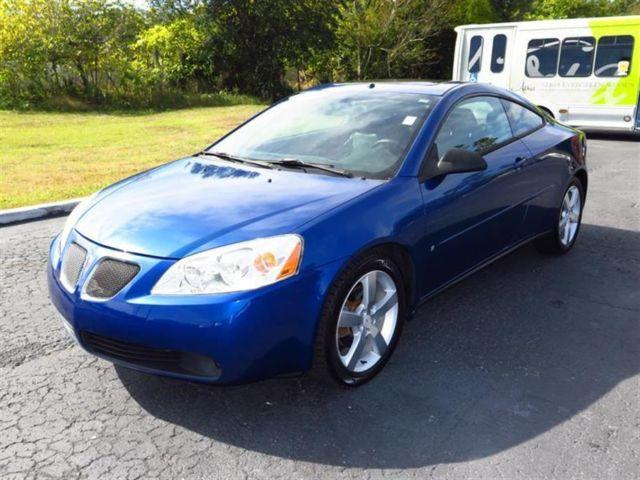 2006 pontiac g6 2dr cpe gtp for sale in brooksville. Black Bedroom Furniture Sets. Home Design Ideas