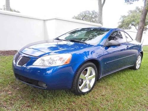 2006 pontiac g6 convertible 2dr convertible gt for sale in jacksonville florida classified. Black Bedroom Furniture Sets. Home Design Ideas