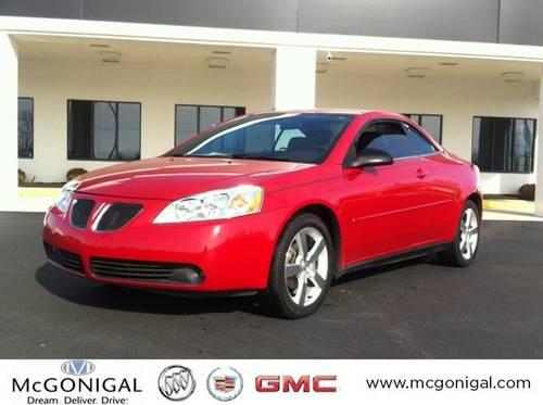 2006 pontiac g6 convertible gt for sale in kokomo indiana. Black Bedroom Furniture Sets. Home Design Ideas