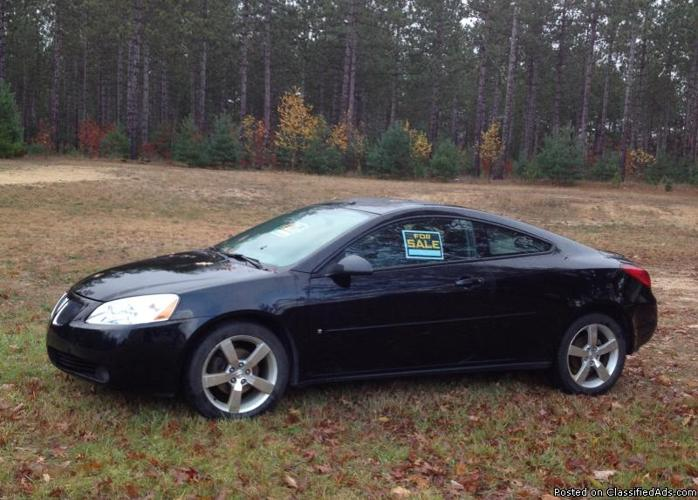 2006 pontiac g6 gtp manual for sale in fife lake michigan. Black Bedroom Furniture Sets. Home Design Ideas