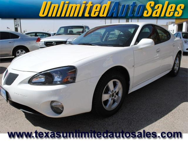 2006 pontiac grand prix base for sale in midland texas classified. Black Bedroom Furniture Sets. Home Design Ideas