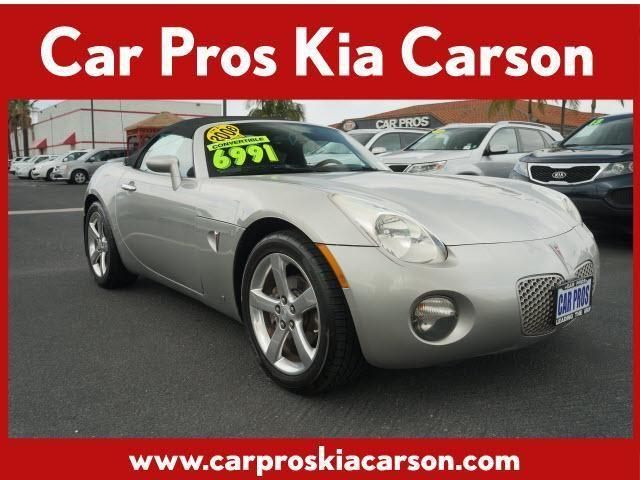 2006 pontiac solstice convertible for sale in carson california classified. Black Bedroom Furniture Sets. Home Design Ideas