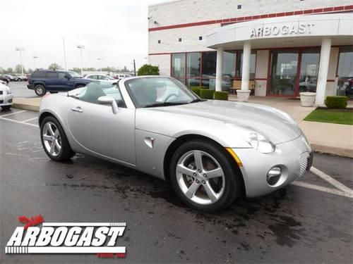 2006 pontiac solstice convertible for sale in troy ohio. Black Bedroom Furniture Sets. Home Design Ideas