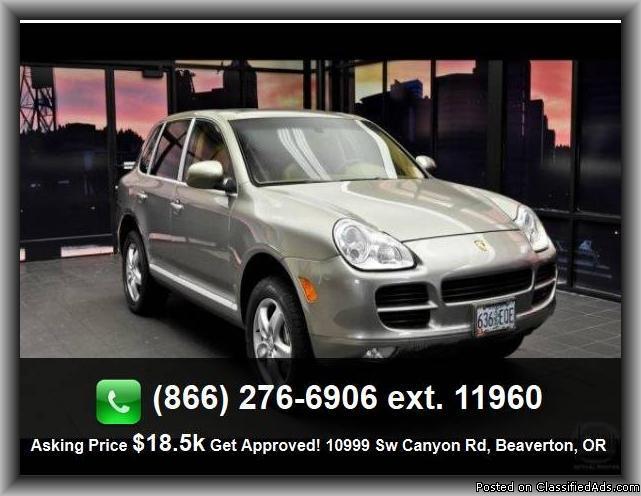 2006 Porsche Cayenne S Suv For Sale In Portland Oregon