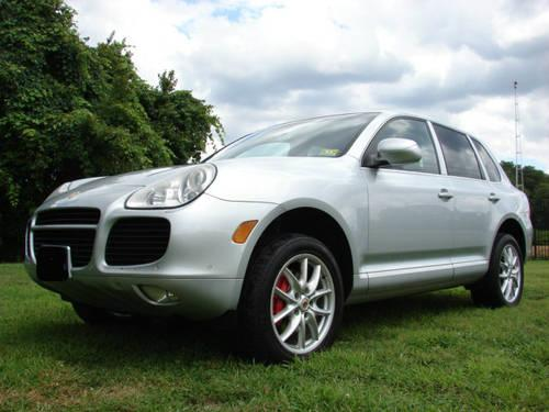 2006 porsche cayenne turbo silver black navigation heated. Black Bedroom Furniture Sets. Home Design Ideas