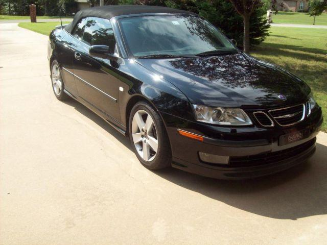 2006 SAAB 9-3 AERO CONVERTIBLE 6cyl. AUTO~ONLY 68K