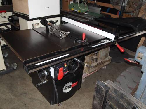 2006 sawstop 5hp tablesaw w 52 fence like new for sale for 52 table saw fence