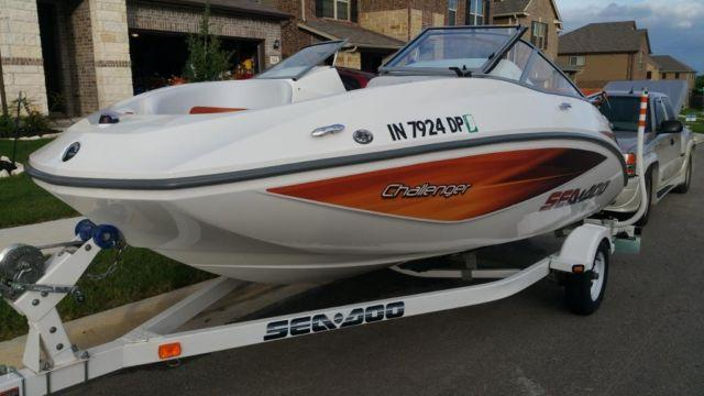 2006 Sea Doo Challenger 180 W 215hp Rotax Seats 8 For