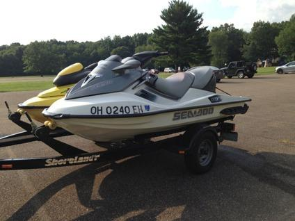 2006 sea doo gtx and 1997 sea doo xp w dual trailer for sale in avon ohio classified. Black Bedroom Furniture Sets. Home Design Ideas