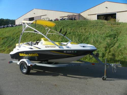 2006 Sea Doo Sportster 4 Tec W 215hp Supercharged 4 Stroke