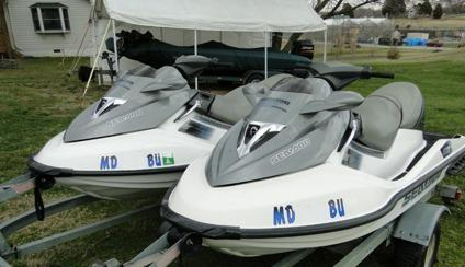 ------Two 2006 Sea Doo Super Charged GTX 4TEC Jet Skis