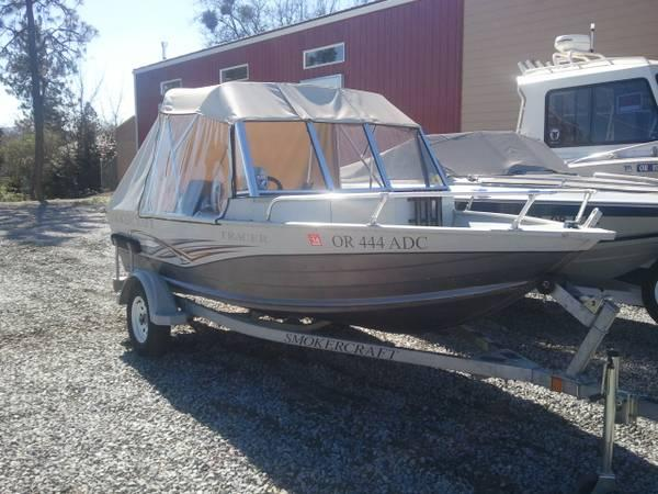 2006 Smoker Craft 16 ft. 2009 40 HP Evinrude E-Tec - $12500