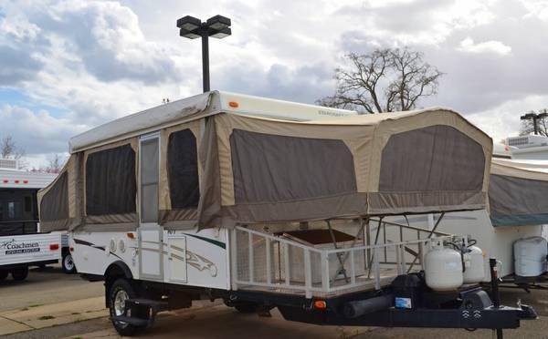 2006 Starcraft 14RT Toyhauler Pop Up Tent Trailer 9995