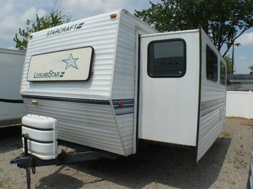 2006 Starcraft Travel Star 30QBS Travel Trailer For