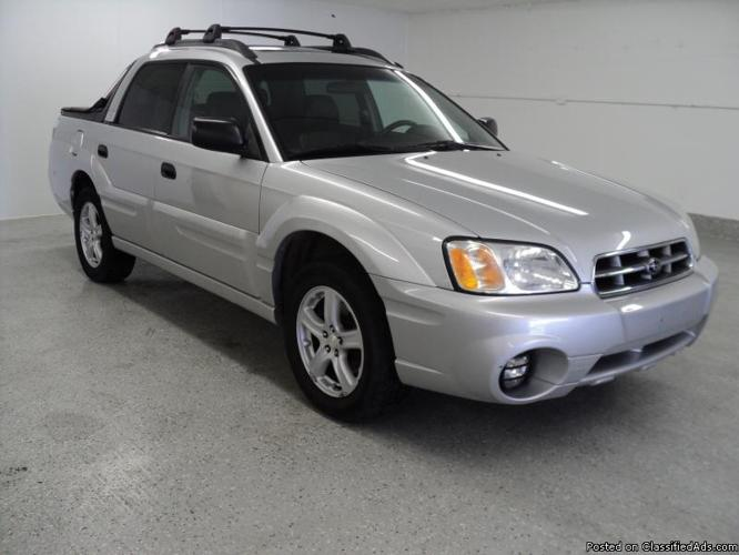 2006 subaru baja sport for sale in downers grove illinois pictures to. Black Bedroom Furniture Sets. Home Design Ideas