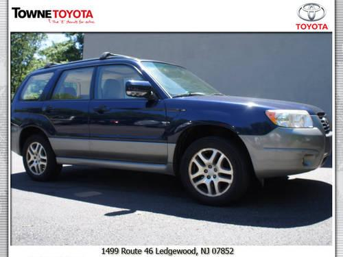 2006 subaru forester suv awd 2 5 x l l bean edition for sale in ledgewood new jersey classified. Black Bedroom Furniture Sets. Home Design Ideas
