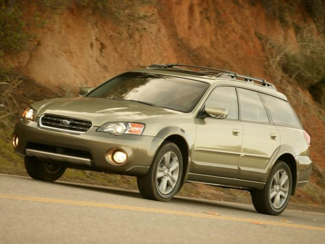 2006 Subaru Outback 2.5i AWD 2.5i 4dr Wagon w/Automatic