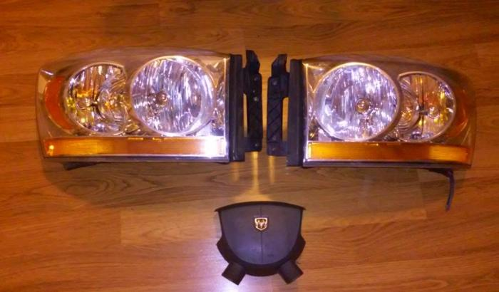 2006 to 2009 Dodge truck head lights