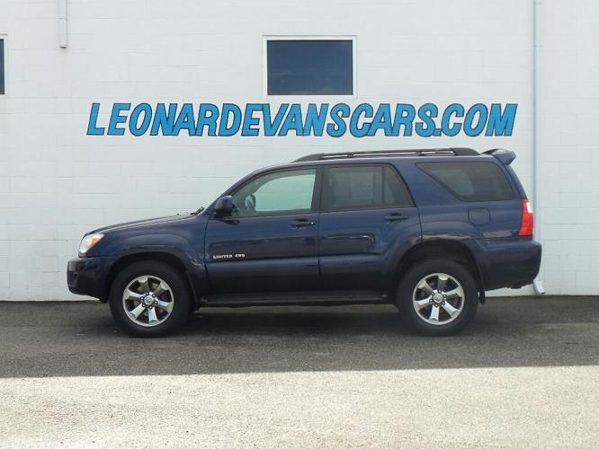 2006 Toyota 4runner Limited Limited 4dr Suv 4wd W V8 For Sale In