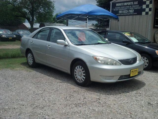 2006 toyota camry le sedan in silver new tires warranty autocheck for sale in spring texas. Black Bedroom Furniture Sets. Home Design Ideas