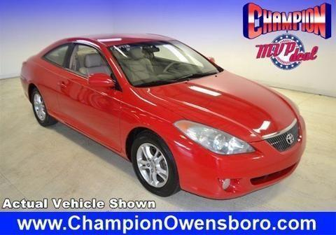 2006 toyota camry solara 2 door coupe for sale in owensboro kentucky classified. Black Bedroom Furniture Sets. Home Design Ideas