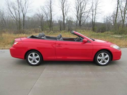 2006 toyota camry solara convertible 2dr conv sle v6 auto. Black Bedroom Furniture Sets. Home Design Ideas