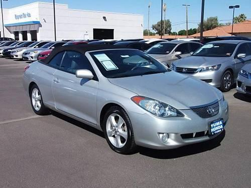 2006 toyota camry solara convertible for sale in yuma arizona classified. Black Bedroom Furniture Sets. Home Design Ideas