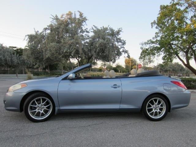 2006 toyota camry solara se v6 se v6 2dr convertible for sale in delray beach florida. Black Bedroom Furniture Sets. Home Design Ideas