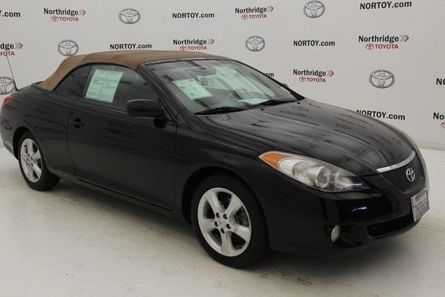 2006 toyota camry solara se v6 se v6 2dr convertible for sale in northridge california. Black Bedroom Furniture Sets. Home Design Ideas