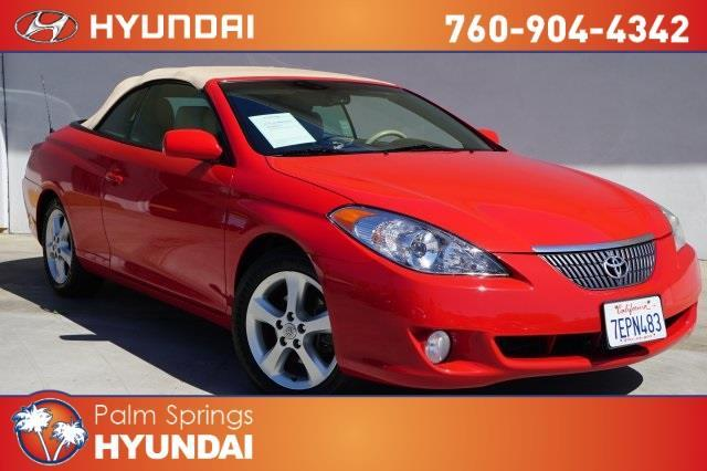 2006 toyota camry solara se v6 se v6 2dr convertible for sale in palm springs california. Black Bedroom Furniture Sets. Home Design Ideas