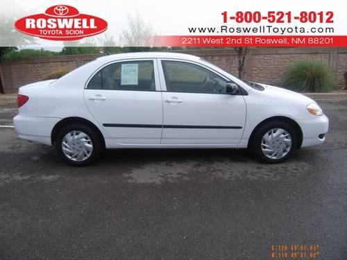 2006 toyota corolla sedan le for sale in elkins new mexico classified. Black Bedroom Furniture Sets. Home Design Ideas