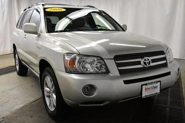 2006 toyota highlander hybrid base awd 4dr suv for sale in davenport iowa classified. Black Bedroom Furniture Sets. Home Design Ideas