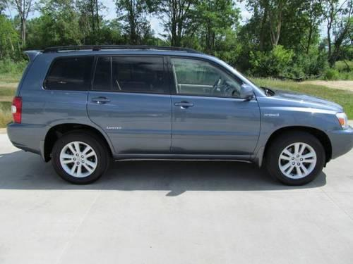 2006 toyota highlander hybrid sport utility 4dr 4wd ltd natl for sale in barrington illinois. Black Bedroom Furniture Sets. Home Design Ideas