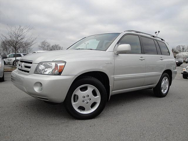 2006 toyota highlander limited for sale in chattanooga tennessee classified. Black Bedroom Furniture Sets. Home Design Ideas