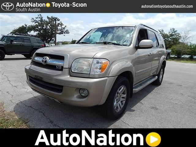 2006 toyota sequoia for sale in austin texas classified. Black Bedroom Furniture Sets. Home Design Ideas