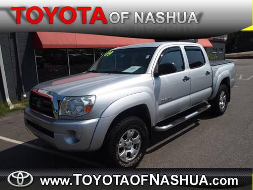 2006 toyota tacoma double cab 4x4 v6 for sale in nashua new hampshire classified. Black Bedroom Furniture Sets. Home Design Ideas