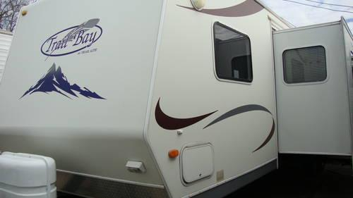 2006 trail bay travel trailer 32 ft 2 bedroom quad bunks for sale in houston texas