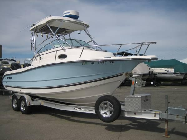 Triton new and used boats for sale in california for Used fishing boats for sale in california