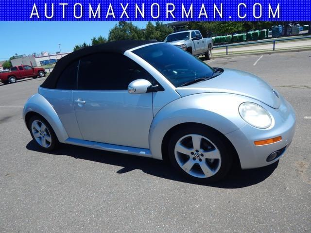 2006 volkswagen new beetle 2 5 2 5 2dr convertible w manual for sale in norman oklahoma. Black Bedroom Furniture Sets. Home Design Ideas
