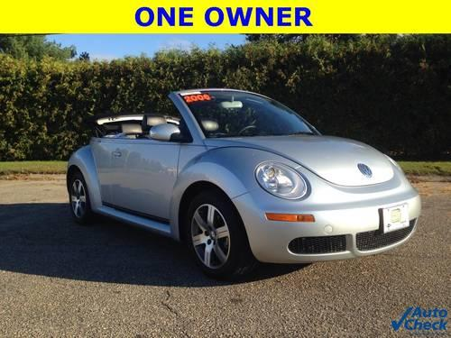 2006 volkswagen new beetle convertible 2 5 for sale in beekmantown new york classified. Black Bedroom Furniture Sets. Home Design Ideas