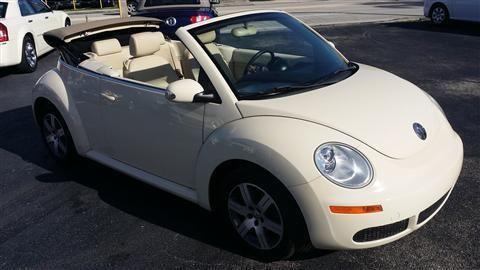 2006 volkswagen new beetle convertible 2 5 convertible 2d for sale in fort lauderdale florida. Black Bedroom Furniture Sets. Home Design Ideas