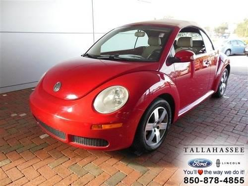 2006 volkswagen new beetle convertible convertible 2dr conv 2 5l at for sale in tallahassee. Black Bedroom Furniture Sets. Home Design Ideas