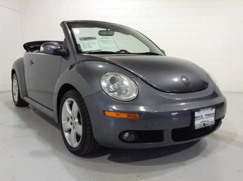2006 volkswagen new beetle convertible coupe low miles super bug low for sale in norman. Black Bedroom Furniture Sets. Home Design Ideas